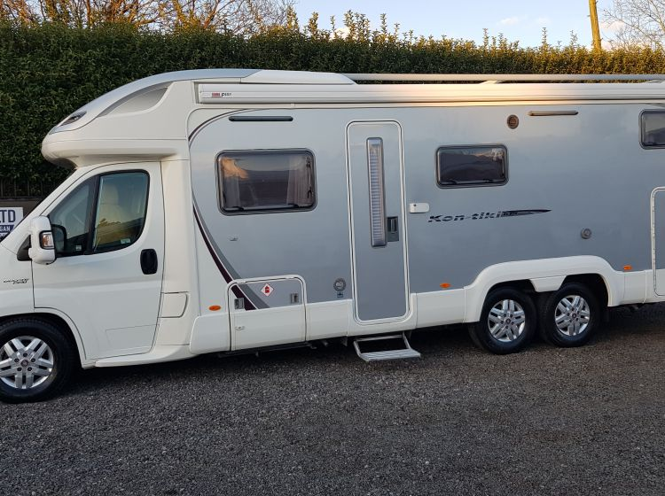 swift kontiki 679 motorhome 3.0 diesel 4 berth 4 seatbelts tag axle garage 2010 fsh 2 keys excellent condition px and finance welcome