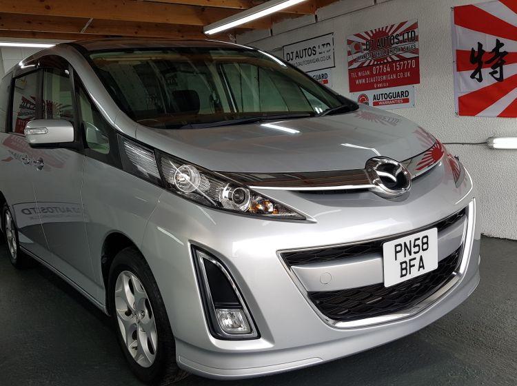 now sold thanks!!!!!!Mazda Biante 2.0 silver petrol automatic 8 seater jap import in stock dvd screen twin electric doors px and finance 6 months warranty