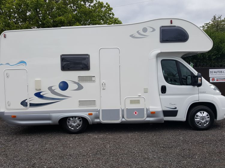 now sold thanks!!!!!!!motorhome ELNAGH BARON 37 6 BERTH BUNK BEDS ONLY 12000 MILES 2008 fsh 2 keys px and finance welcome