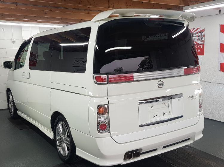 Nissan Elgrand rider 2.5 auto 8 seats elec -curtains/sunroof fresh jap import 05 in stock grade 4-b please quote 165