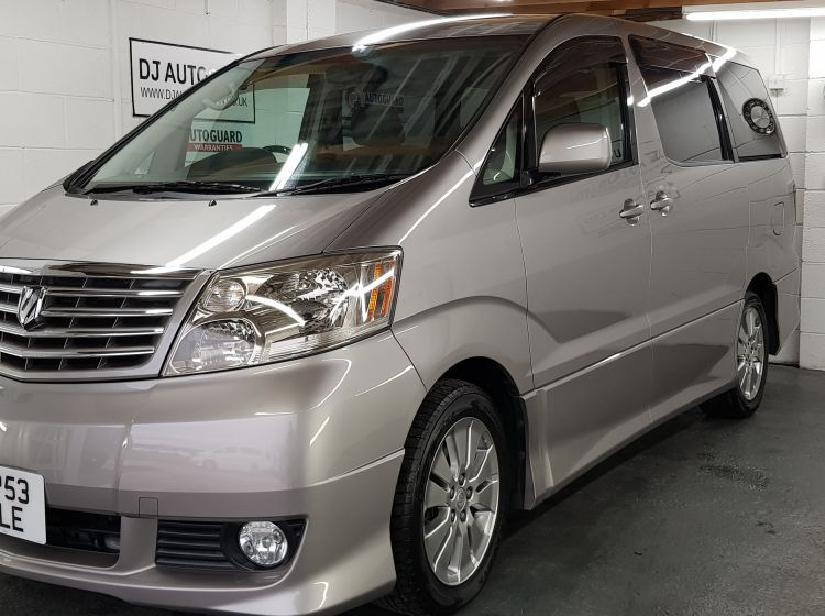 now sold thanks!!!!!!!!!!Toyota Alphard 2.4 grey petrol automatic 8 seater MPV excellent condition px and finance 6 months warranty 2003