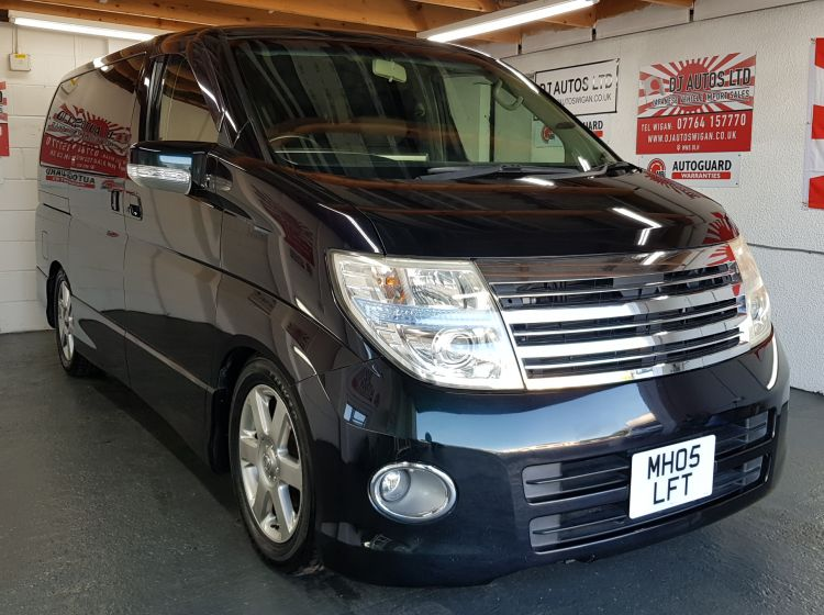 Nissan Elgrand 2500 petrol auto highway star japanese fresh import in stock  6 months warranty fully serviced-4 new tyres excellent