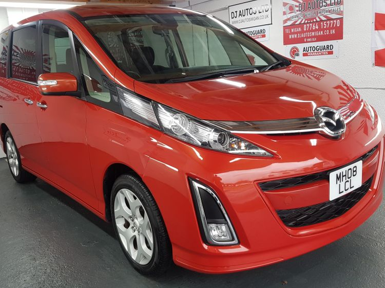 Mazda Biante 2.3 petrol automatic 8 seater japanese fresh import orange 2008 in stock px welcome twin electric doors dvd screen