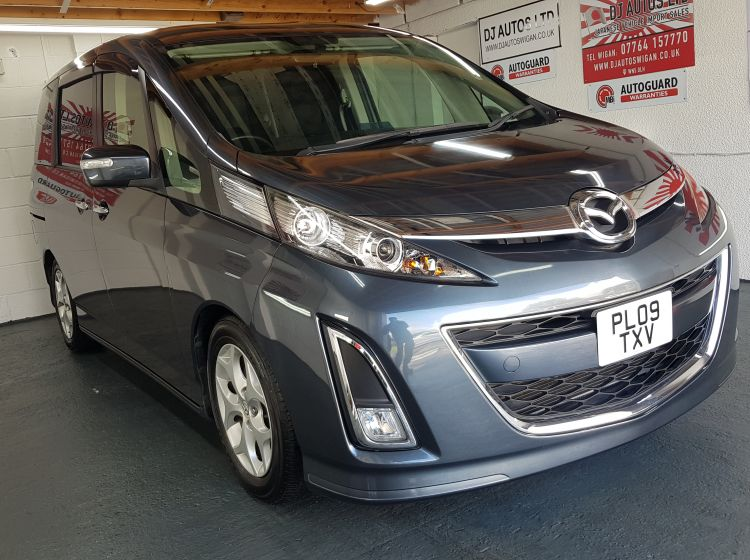 Mazda Biante 2.0 petrol automatic in grey 8 seater japanese fresh import 2009 px-finance possible excellent condition