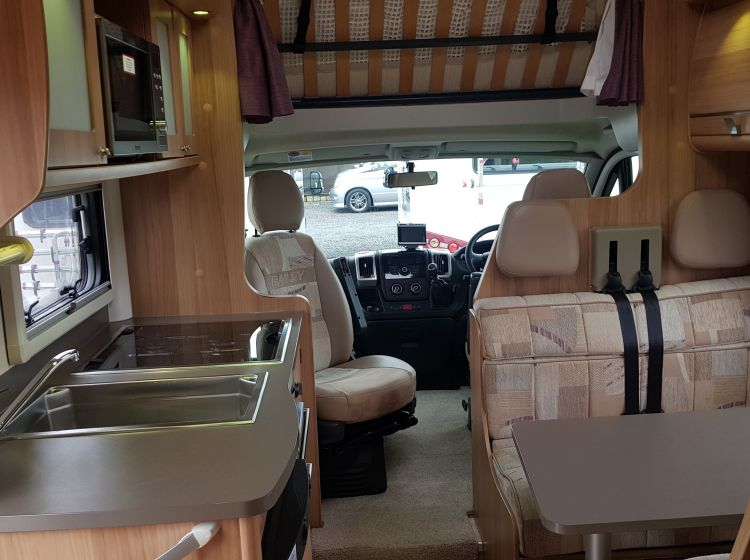 now sold thanks!!!!!!Bailey autograph 760 se 6 berth 6 seatbelts u shape lounge only 26000 miles 2012 good used condition px and finance 6 months warranty