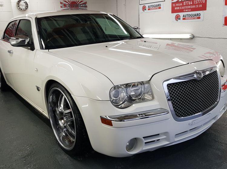 now sold thanks!!!!!!Chrysler 300C 5.7 V8 Hemi auto white japanese import corrosion free low mileage in stock awaiting dvla docs- px poss