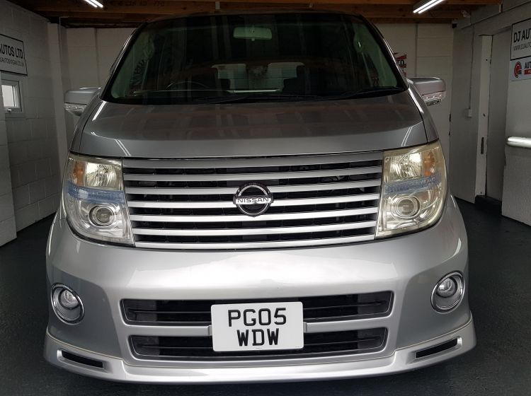 now sold thanks!!!!!!Nissan Elgrand 2.5 automatic 8 seater silver jap import only 48k miles in stock excellent condition px and finance 6 months warranty