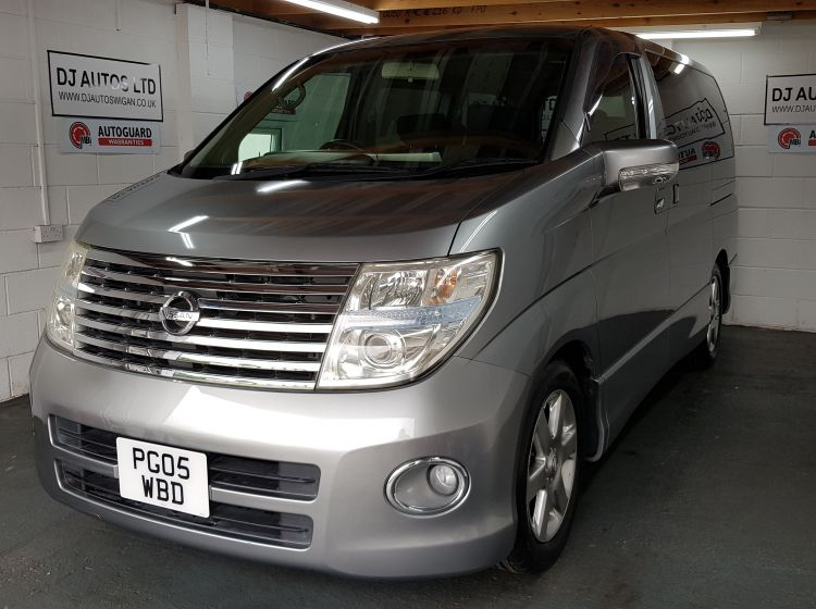 now sold thanks!!!!!!!!!!Nissan Elgrand 2.5 automatic 8 seater grey MPV jap import 2005 px finance excellent alround condition 6 months warranty