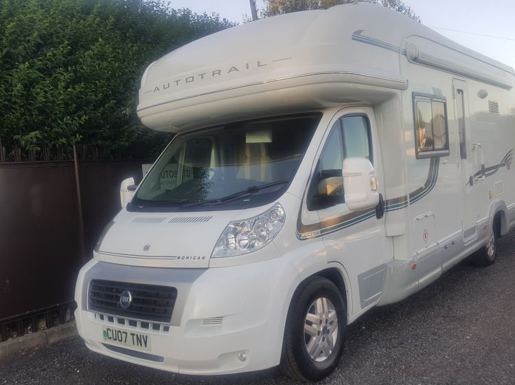 now sold thanks!!!!!!!Autotrail mohican motorhome 2.3 diesel large 2 berth 2007 -new timing belt full service and habation check -px- welcome