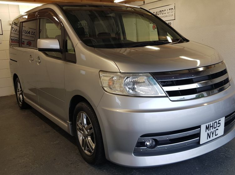 now sold thanks!!!!!!Nissan Serena rider 2.0 automatic petrol 8 seater mpv top class japanese import	px welcome excellent conditon 6 months warranty