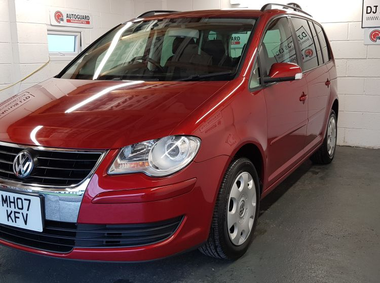 now sold thanks!!!!!!!!!Volkswagen Touran 1.4 TSI auto jap import in red top class condition -px welcome excellent condition 6 months warranty